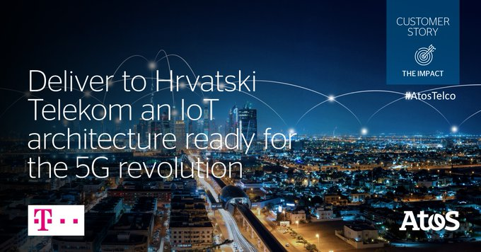 [#AtosTelco] Supported by Atos, @hrvatskitelekom (Croatian Telecom) launched a pioneering #IoT...