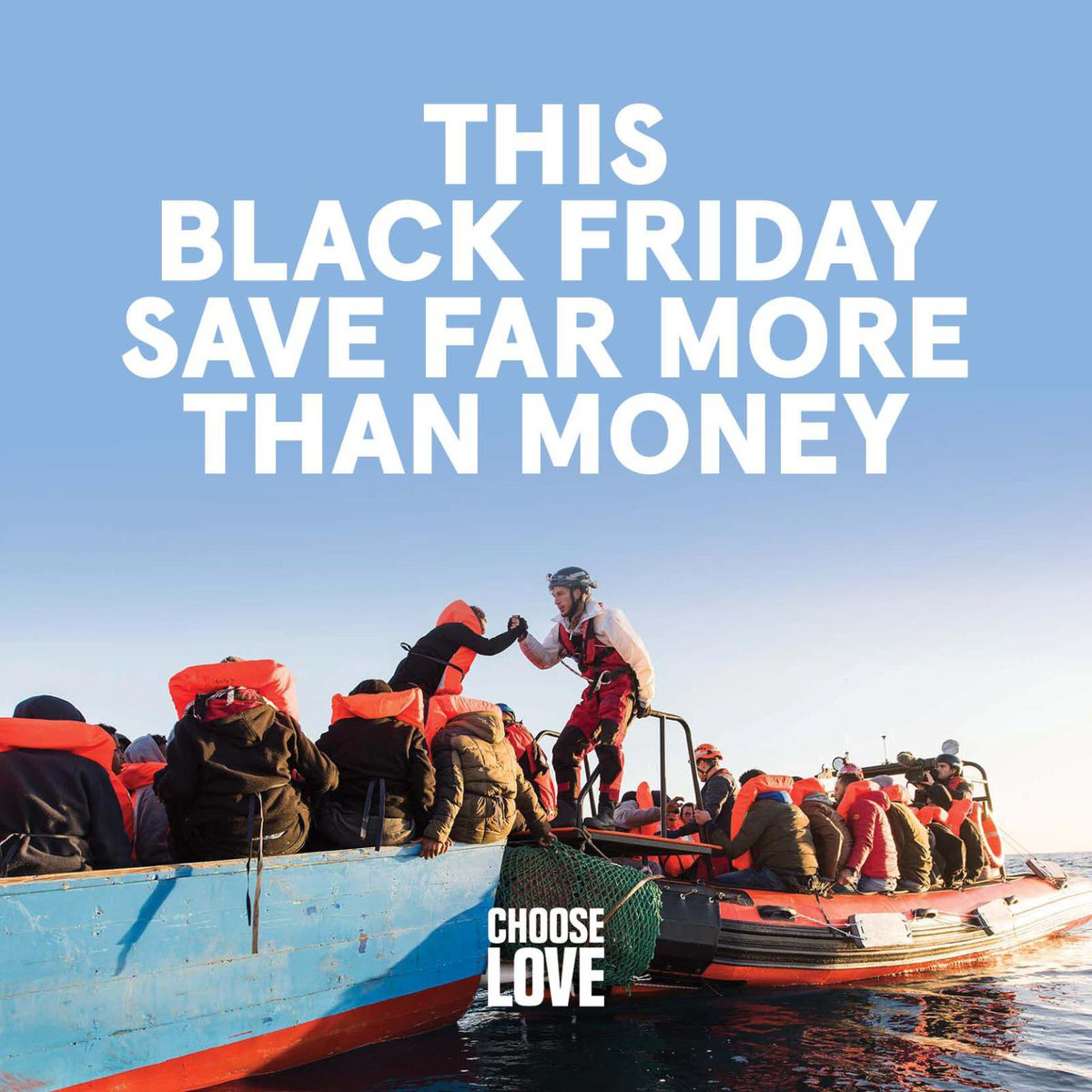 This Black Friday, make your present shopping really count ❤️⁣ The ⁣#ChooseLove store sells real items refugees who are facing winter in the most difficult conditions you can imagine. https://t.co/uRxbBEStKx