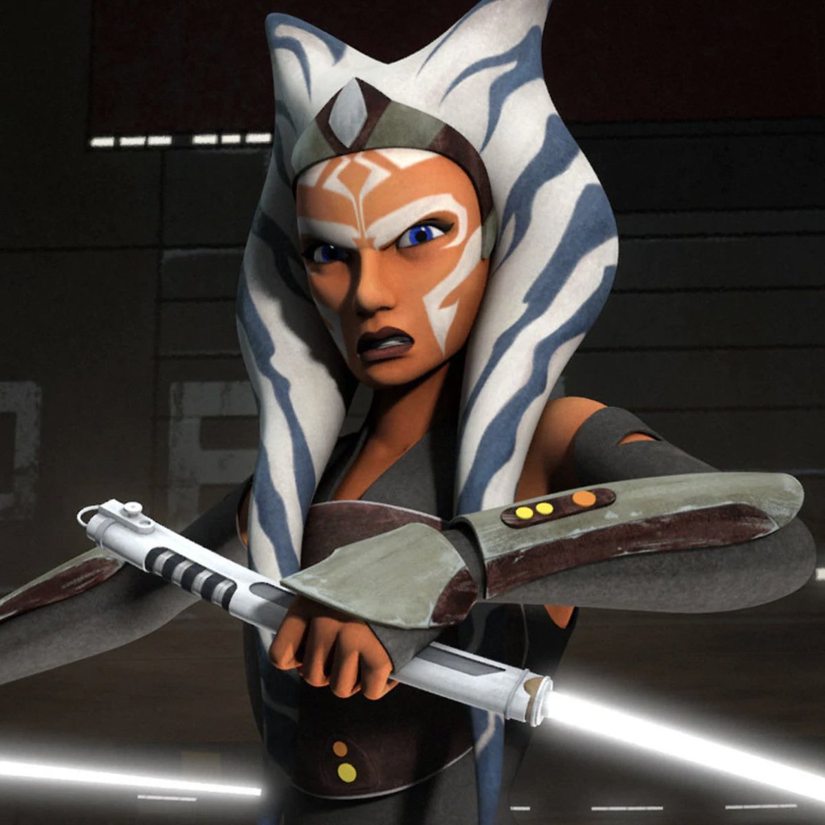 I always liked Ahsoka Tano from the Clone Wars series and wondered what happened to her when she grows up now I know #themandalorian #ahsokatano #thejedi