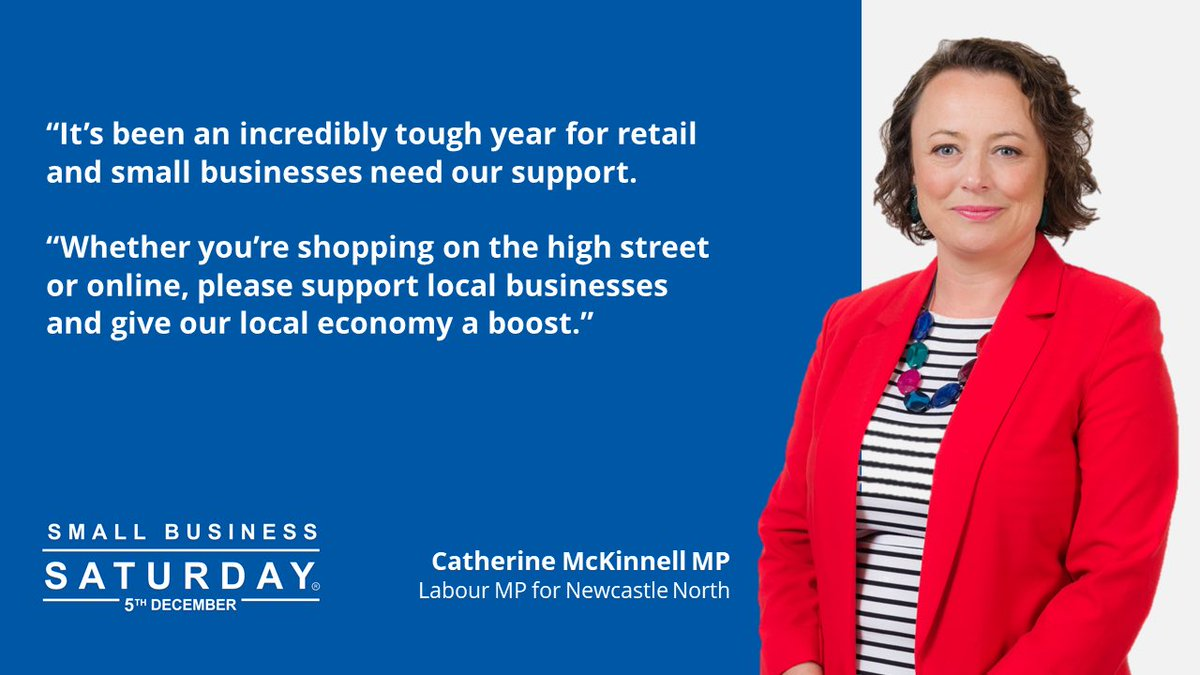 Its been a really tough year for retail. Whether youre doing your Christmas shopping online or on the high street, please try and support our fantastic small businesses who need a boost right now #SmallBizSatUK