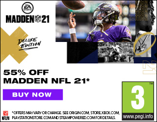 55% off the @EAMaddenNFL 21 DELUXE EDITION! 🏈  Buy Now: