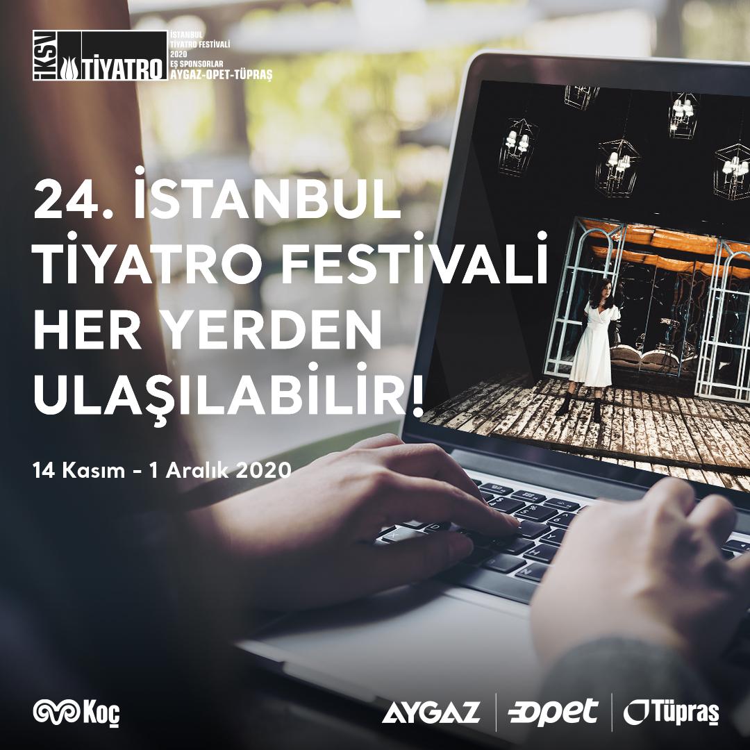 Bu yıl çeşitli çevrim içi gösterimlere de yer verilen 24. İstanbul Tiyatro Festivali'ni tüm enerjimizle desteklemekten gurur duyuyoruz. #tiyatroneredeysebizoradayız #istanbultiyatrofestivali #enerjimiztiyatroya
