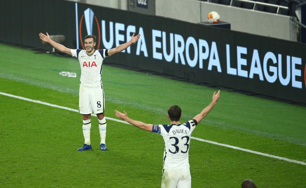 Harry Winks' goal vs Ludogorets came from a distance of 53.7 yards - only two goals have been scored from further out in the Europa League since 2009-10. #THFC #COYS
