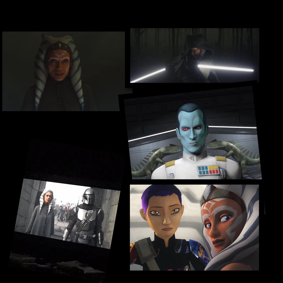 #AhsokaTano #inDavewetrust I think with all that just dropped off Chevy a spin-off @themandalorian