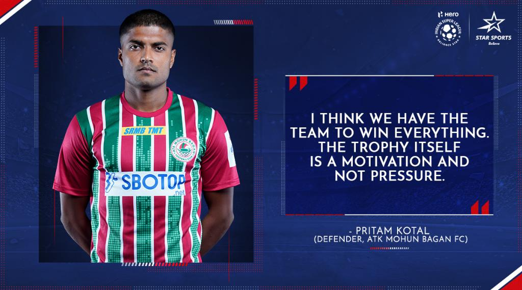 Eyes on the big prize. 👀  Reply with 🙌 if you think #ATKMB will register their 2nd win in the #HeroISL 2020-21!  ⚽️: #SCEBATKMB ⌛: Tonight, 7:30 PM 📺: Star Sports, Disney+Hotstar VIP & Jio TV