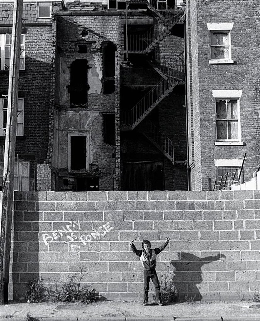Benny is a Ponse. Toxteth, Liverpool, 1980s. Photo © Dave Sinclair.