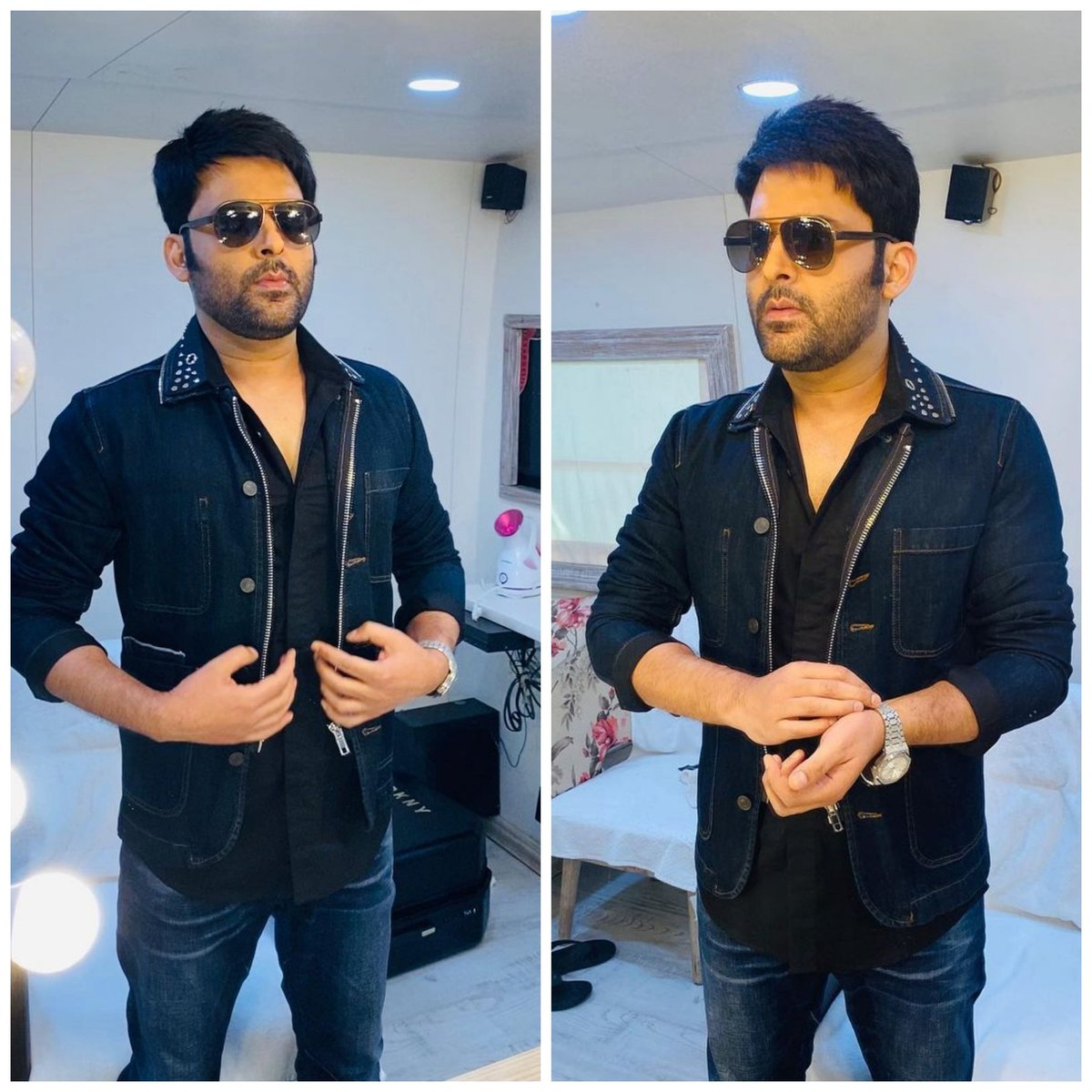 Look at the confidence he's wearing, after being fit again! 🏋️💪😎   #KapilSharma