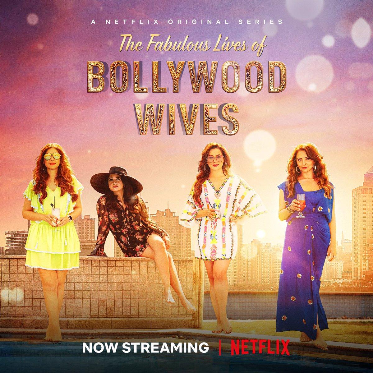 #FabulousLives of Bollywood Wives, now streaming on @NetflixIndia  @maheepkapoor @neelamkothari @seemakkhan @bhavanapandey @Dharmatic_ @karanjohar @apoorvamehta18 @aneeshabaig @scrappypants #UttamDomale @nowme_datta @LazyEpicurean @manumaharshi @AnuvabPal @NotSoSnob @DharmaMovies
