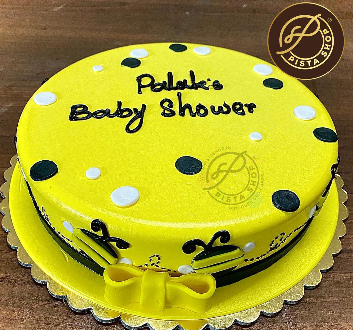 A special cake for a special occasion. Call now for more details.  #babyshowercake #babyiscoming #heorshe #joy #preciousmoment #loveforbaby #soontobemom #motherslife #baby #babyboy #babygirl #couplegoals  #cakecakecake #foodbloggers #yavatmalfoodies #yavatmal #pistashopyavatmal