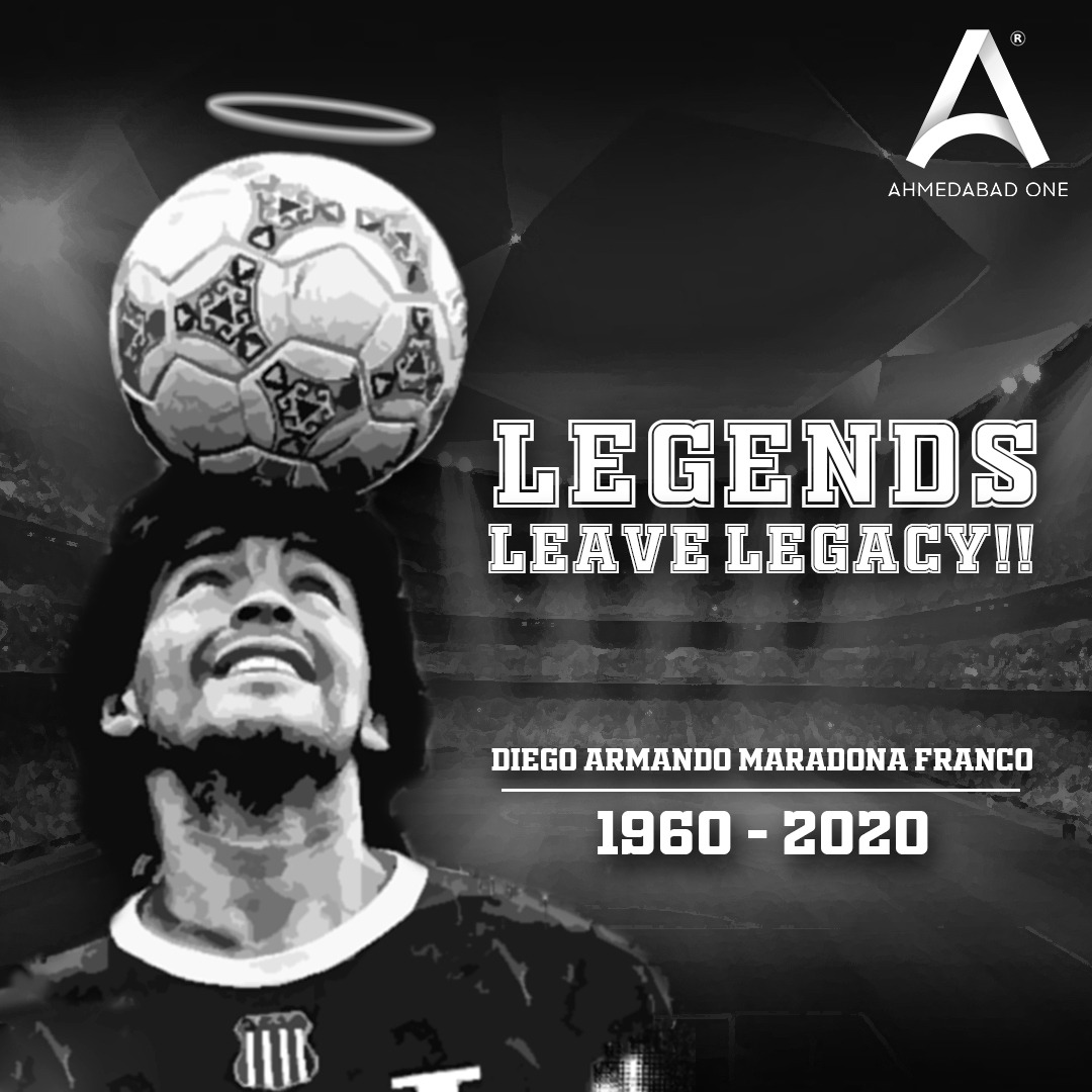 The legend doesn't leave us but leaves his legacy, because Diego is eternal and his memories are immortal!!  #Maradona #Maradona10 #Napoli #Naples #UEFA #ChanpionsLeague #DiegoMaradona #Argentina #Football #Soccer #HandofGod #WorldCup #Goals #FIFA #Legends #Legacy #IndianMalls