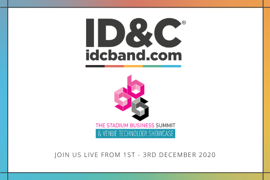 ID&C are delighted to be supporting this years virtual @stadiumbusiness event!  Join us from 1st December to 3rd December to #Reopen #Restart & #Reimagine our businesses together.   #SBS20 #stadiumbiz