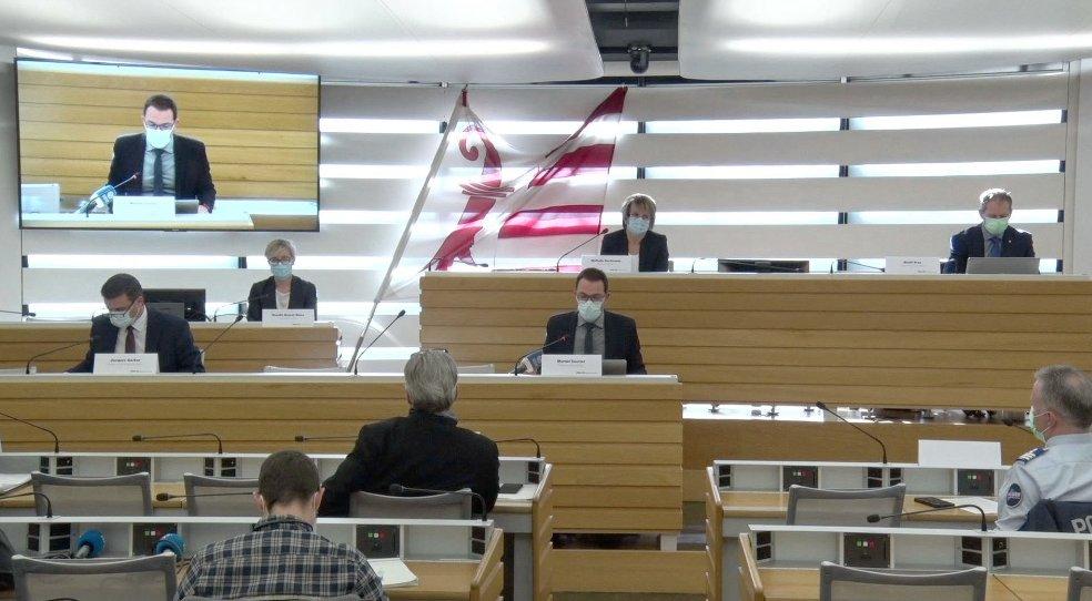 📡 Évolution de la situation liée au Covid-19 : retransmission de la conférence de presse du Gouvernement jurassien vers 10h45 sur Canal Alpha. https://t.co/hkPS0V1S0f https://t.co/Zqmmd6wlRG