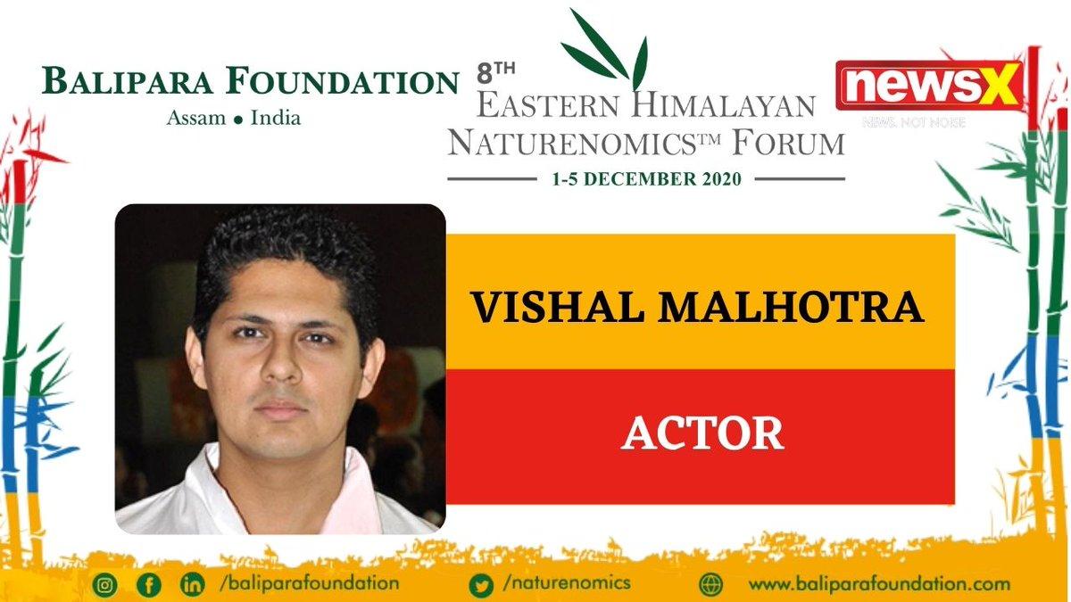 #EcologyIsEconomy  Join Actor Vishal Malhotra (@Vishhman) at the virtual edition of 8th Eastern Himalayan Naturenomics Forum 2020, 1st-5th December, on #NewsX #EHNF2020 @naturenomics