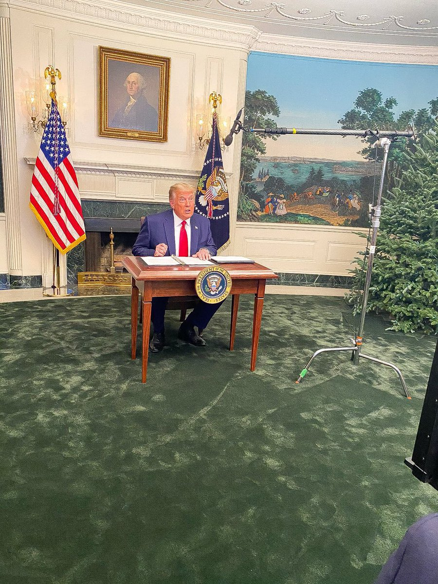 Finally a desk suited for his choice of words. #tinydesk