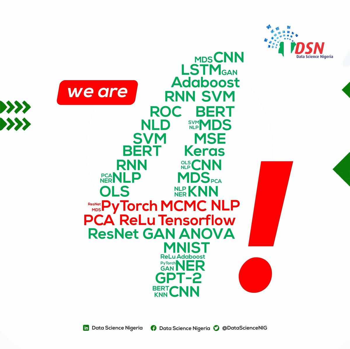 Congratulations @bayoadekanmbi @DataScienceNIG 🌟🎉🎈👏💯