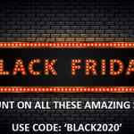 Image for the Tweet beginning: Our Black Friday offer runs