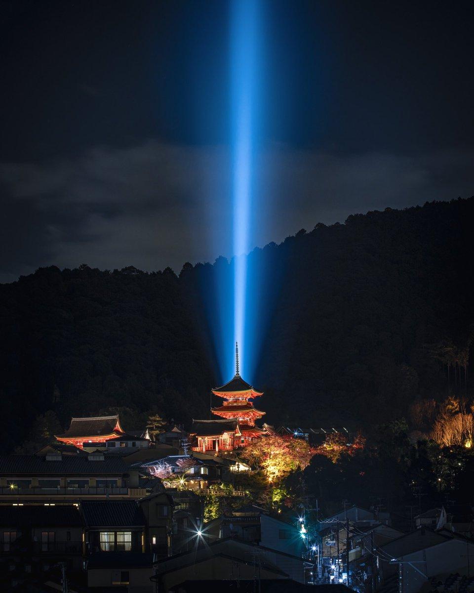 秋の清水寺これこそホントの特別拝観。