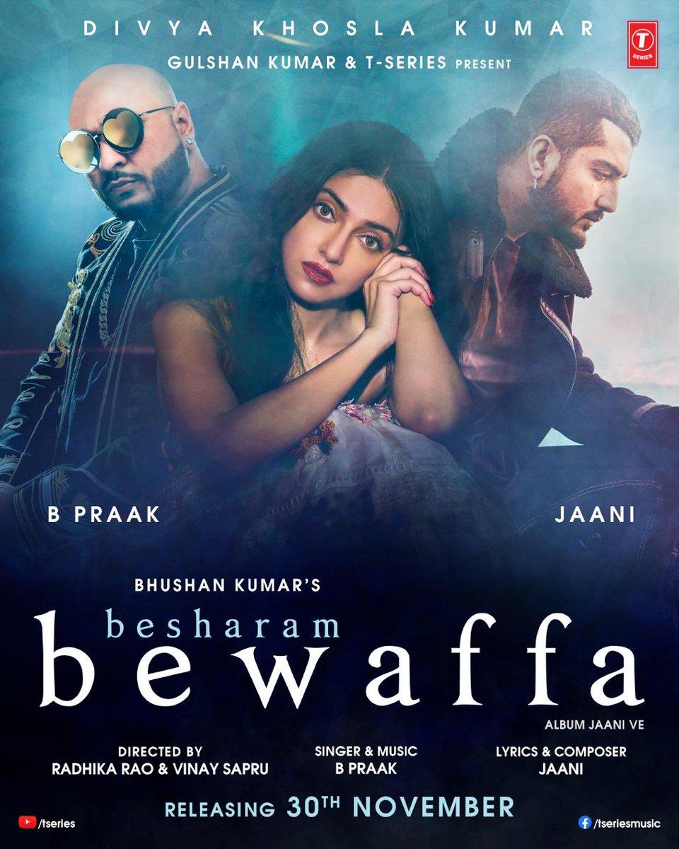 Besharam bewaffa chords by B praak