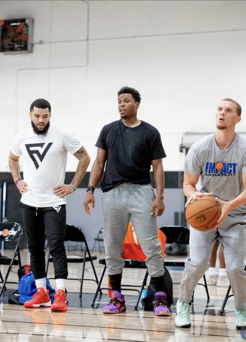 Did some digging around last night, & interestingly enough Lamine Diane was at the same IMPACT Basketball camps where we saw Lowry & FVV scouting Malachi Flynn.   Something, nothing, or everything?  @BlakeMurphyODC @JustEsBaraheni @hoopgoose @RapsReport   https://t.co/ybmfJHSvbi https://t.co/S8FSM8FORn