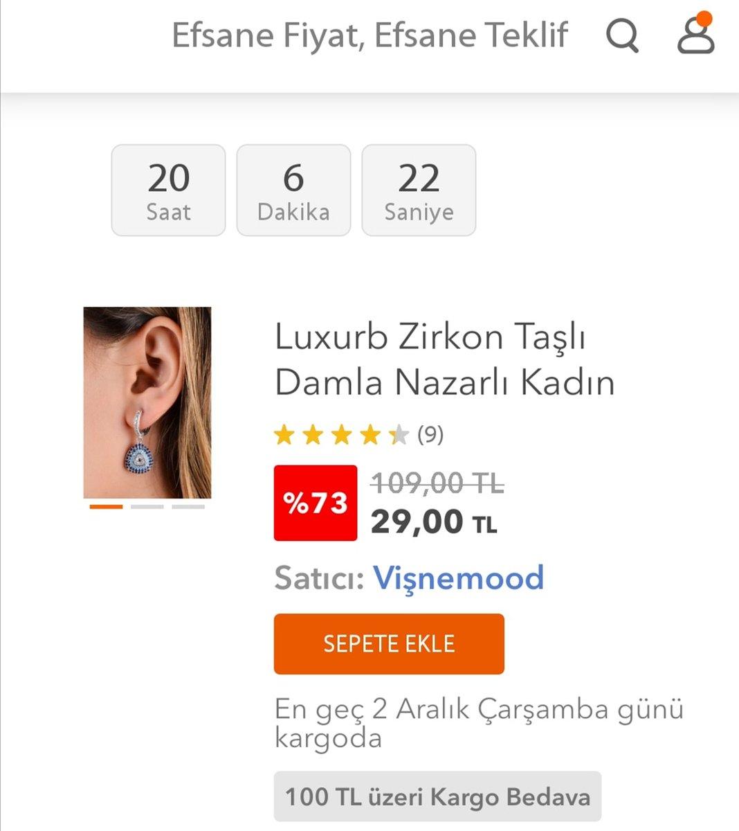 Luxurb Zirkon Taşlı Damla Nazarlı Kadın Küpe Efsane Kasıma Özel 29,00 TL fiyatıyla Hepsiburada'da. Mağaza linki profilde. #efsanekasim #hepsiburada #hepsiburadakoleksiyonum #küpe #kolye #bileklik #moda #trend #takı #kadın Satın almak için: