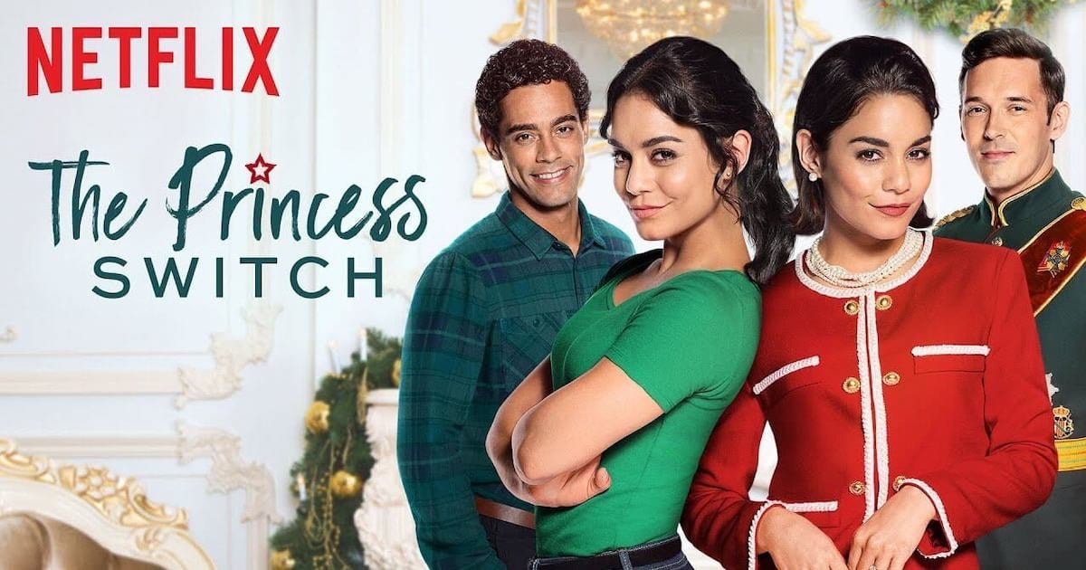 Watch #ThePrincessSwitch @TV_Bolly  Enjoy Now-    When a down-to-earth Chicago baker and a soon-to-be princess discover they look like twins, they hatch a Christmastime plan to trade places.