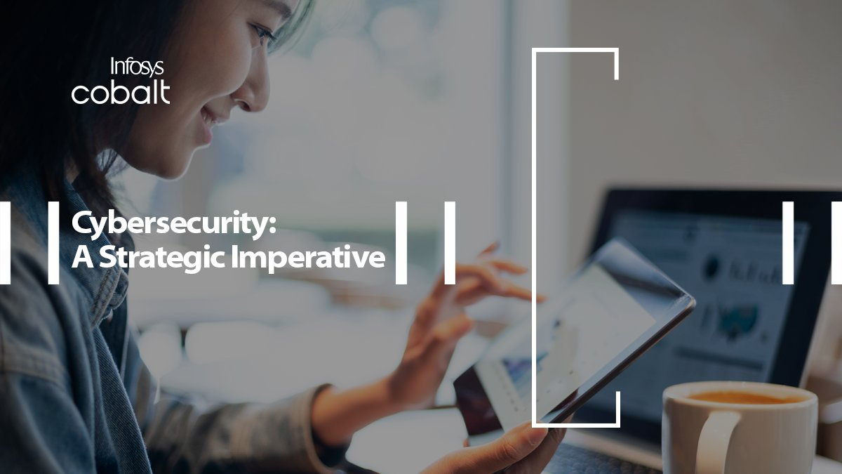 """Cybersecurity has become a board room imperative in nearly 50% of global enterprises - Infosys Research. Read the research study  """"Assuring Digital-trust"""" to get insights on #cybersecurity & trends that could help you make informed decisions https://t.co/M9xV8ibsaN #fortifycyber https://t.co/x2nsW1akB0"""