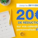 Image for the Tweet beginning: 🗓️  Calendriers personnalisés 🗓️  Préparez