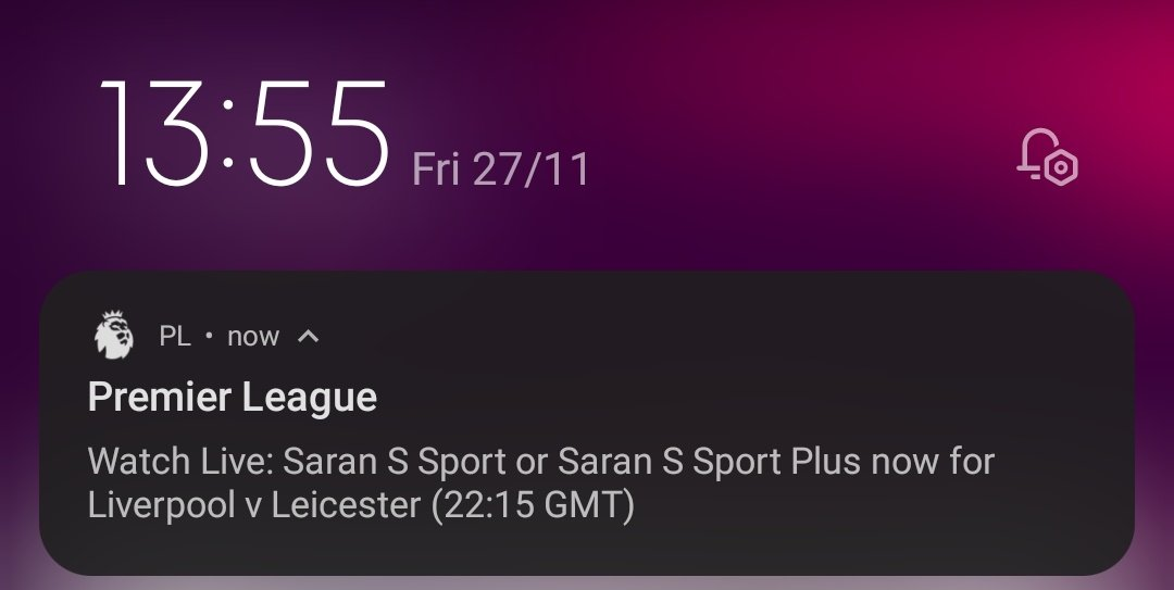 @premierleague why are you sending me this push notification after five days from #LIVLEI?