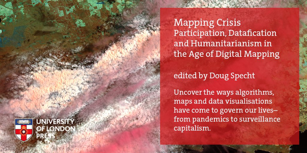 Can the collection of personal data ever be a force for good? Join #MappingCrisis authors @DougSpecht & @monika_halkort for a fascinating lunchtime talk with @ODIHQ. 🗓️ 5 Feb 2021 ⌚️13:00 RSVP tinyurl.com/y2lucl2x Download & read the book FREE! sas.ac.uk/publications/m…