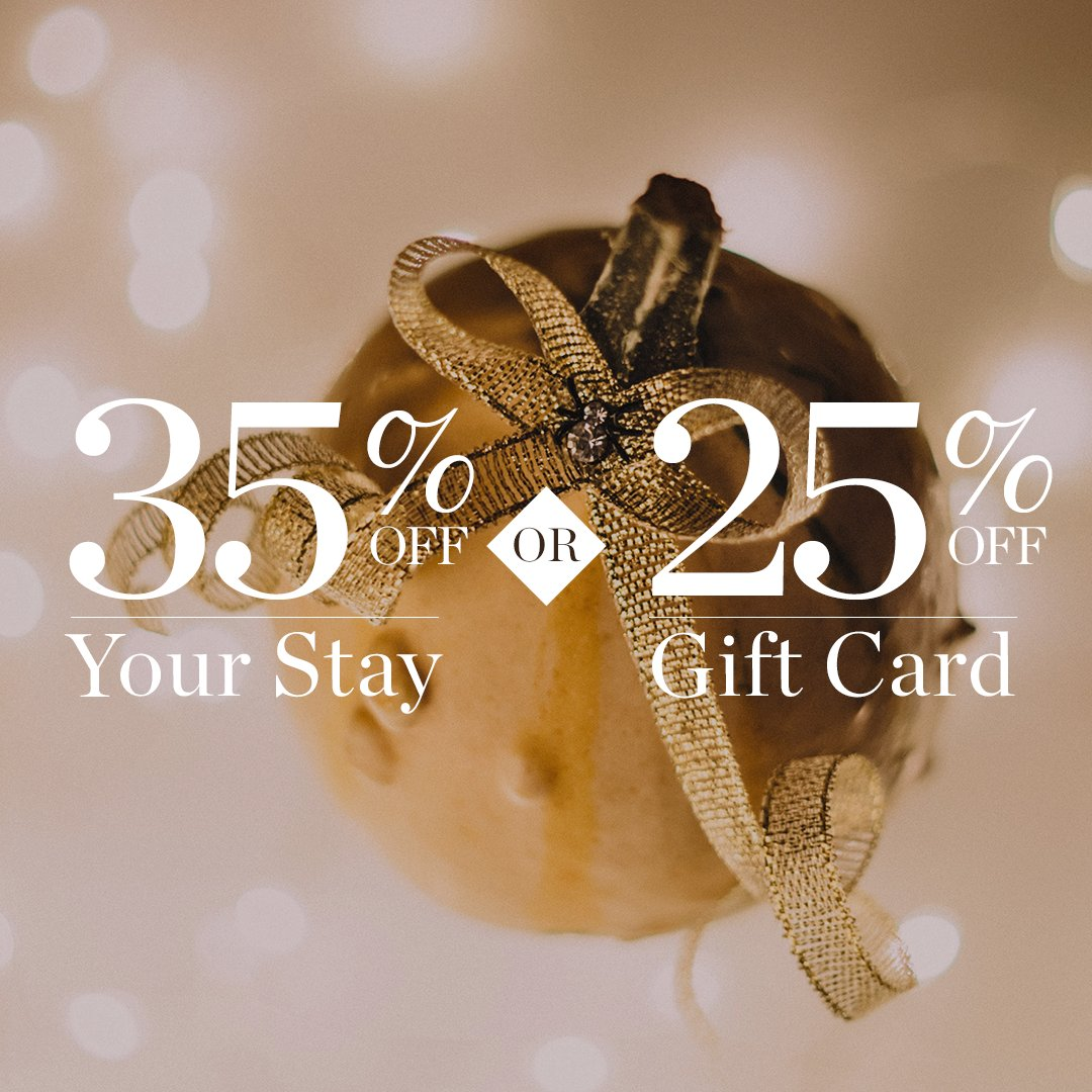Black Friday is finally here! Spread the joy this holiday season with 35% off your stay or 25% off our gift cards. Visit our website to take advantage: https://t.co/BWMPmaH0k5. #VisitSavannah #BlackFriday https://t.co/UX4iER5Ejd