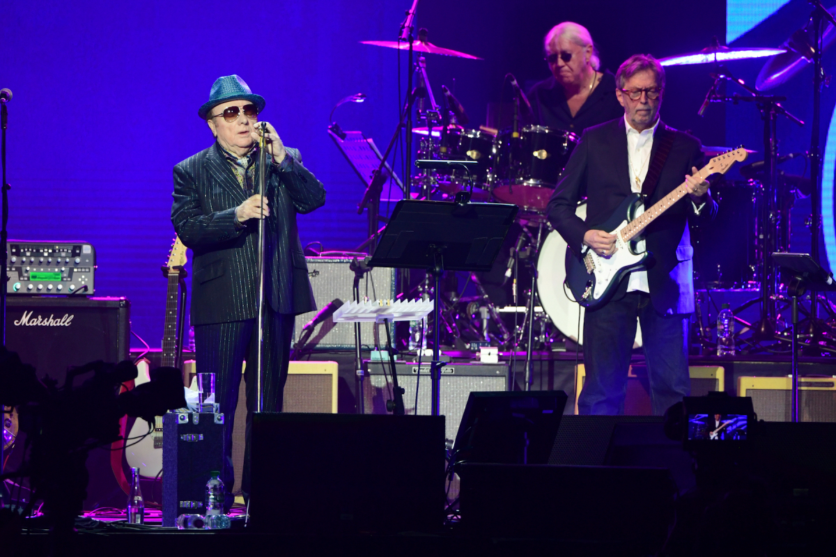 "Van Morrison and Eric Clapton announce anti-lockdown song ""Stand and Deliver"""