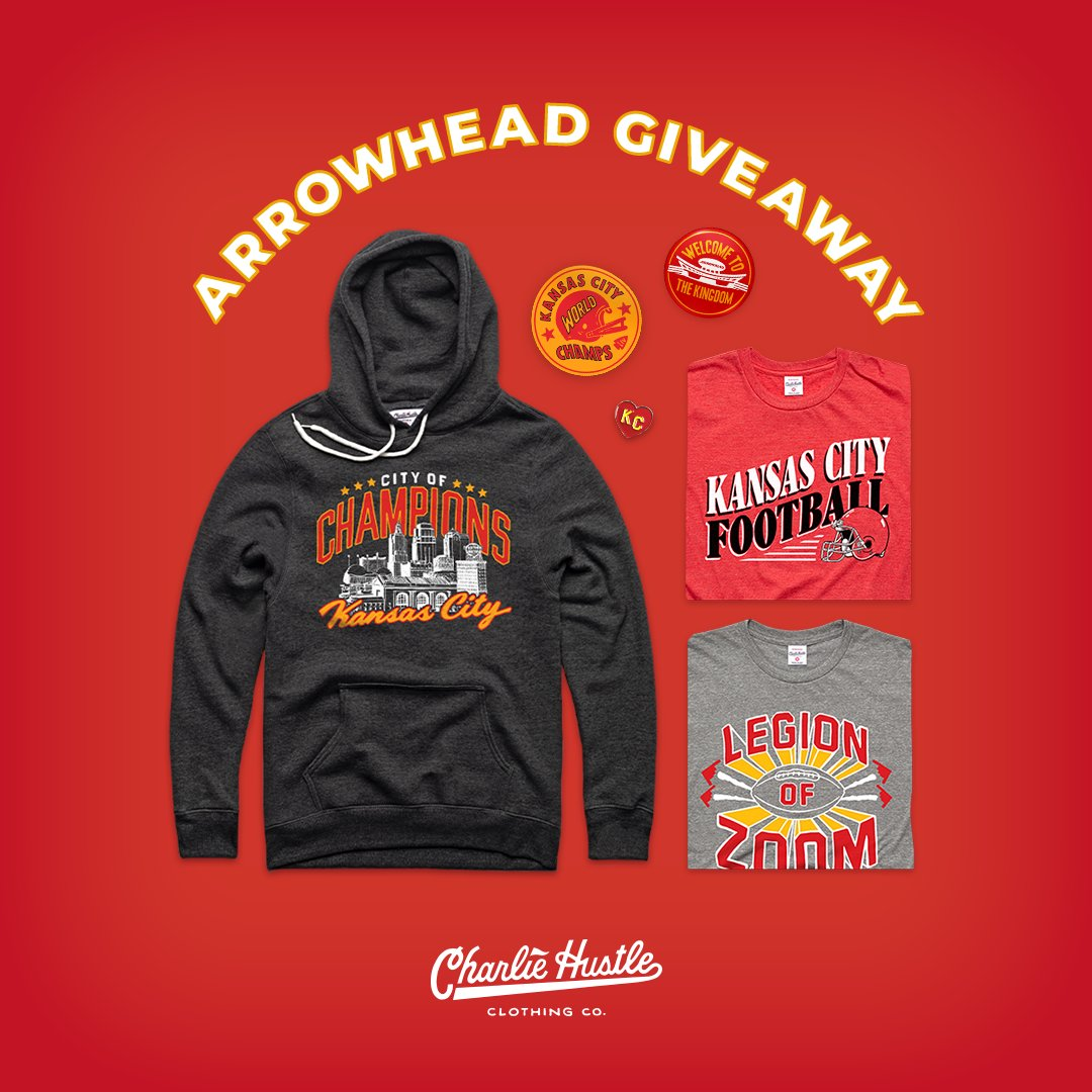 🍂🦃 AP Giveaway 🦃🍂  @CharlieHustleCo wants you to be the best-dressed #Chiefs fan for the big matchup with the Bucs this weekend.  A simple follow & RT to win all of these items! We'll choose the winner on Saturday, 11/28.  (*see next tweet for official rules and eligibility*)