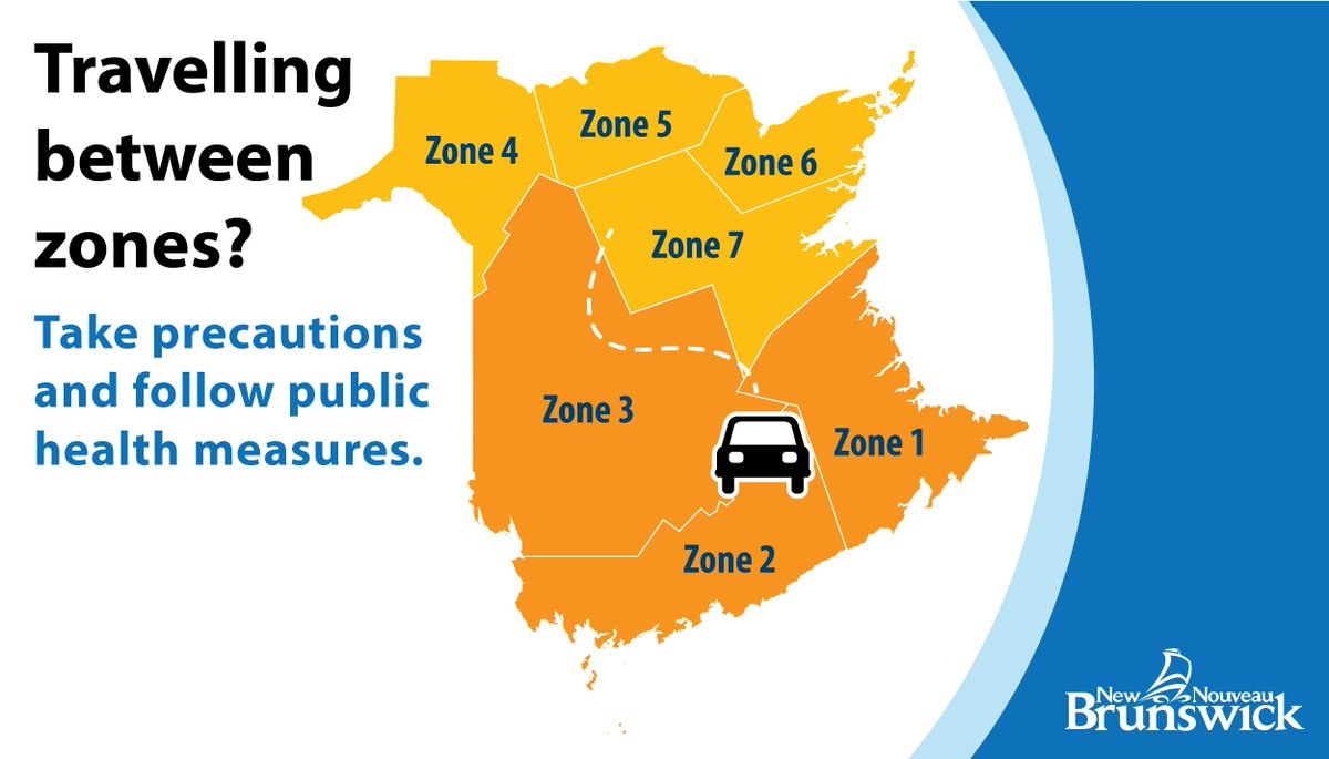Except for essential reasons, please do not travel between Orange zones or between Orange and Yellow zones. If you do have to travel, take extra precautions to reduce further potential spread of COVID-19 in the province. https://t.co/JpeGZY1dTE https://t.co/0uBjgAiUoo