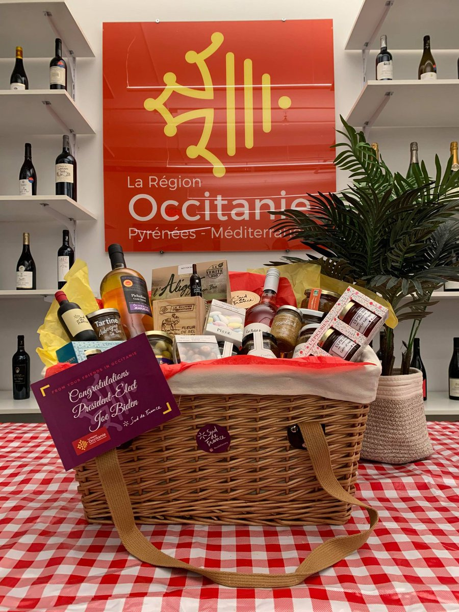 Dear @JoeBiden, your predecessor put various economic sectors in difficulty by unfair taxes. To congratulate you on your election, I invite you to discover these delicious products from @Occitanie and to remove these surtaxes which penalize my region and its farmers.