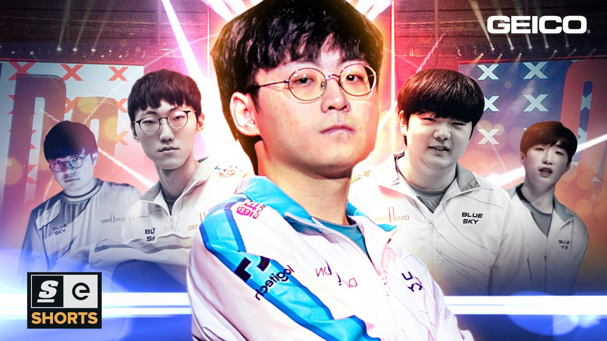 theScoreesports - Fans had high expectations for @DAMWONgaming.   They lived up to the hype and restored glory to the LCK after having one of the most dominant Worlds runs in League of Legends history.  Presented by @GEICO #ad