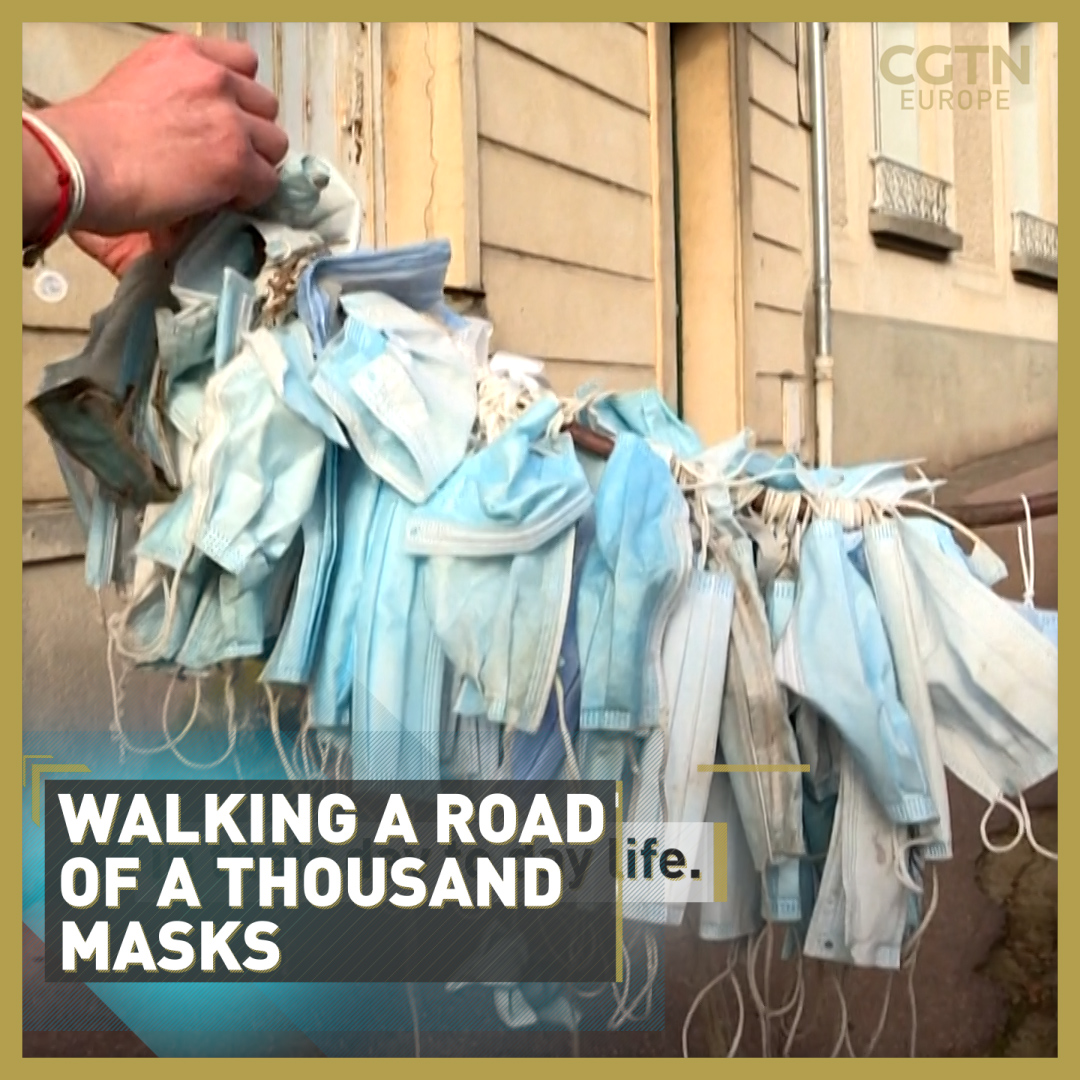 🇫🇷 Would you walk 880km to pick up litter?🚶♂️Well, two men in France are doing that right now, and they are collecting discarded face masks along the way 😷  Read more: