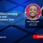 Image for the Tweet beginning: Join Free ODSC Webinar to