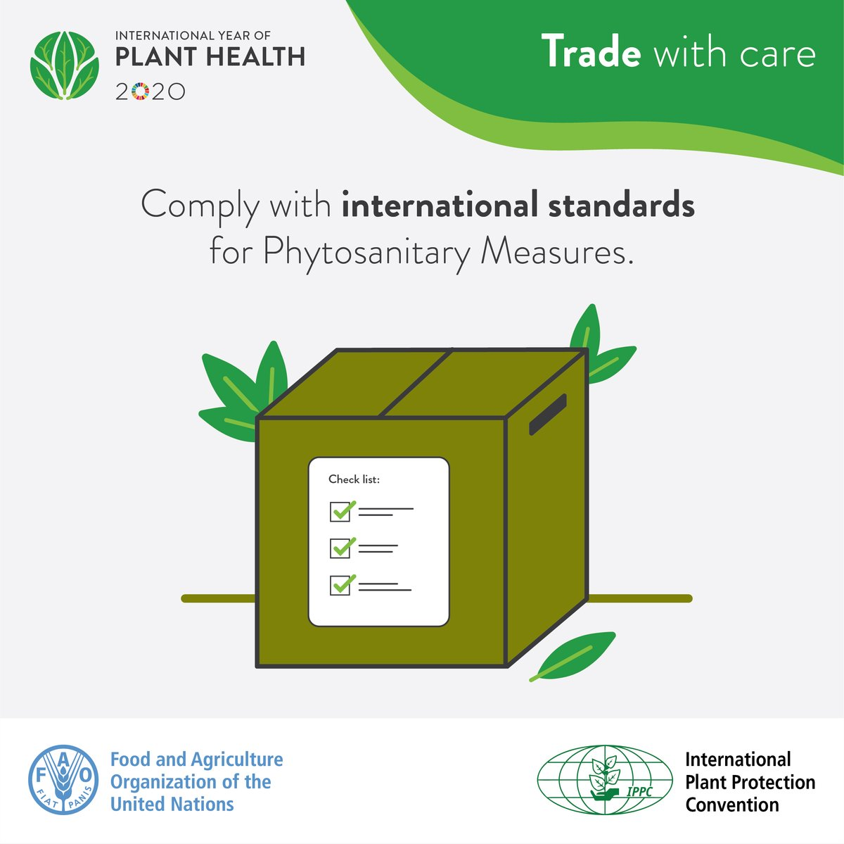 Plants make up 80% of the food we eat! Keeping our plants healthy is vital for our #foodsecurity. We need to ensure that #planthealth is ensured beyond borders.   More info 👉