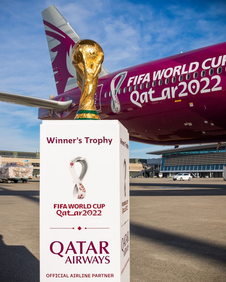 32 teams, 64 matches over 28 days and only one winner! Leave a comment with the flag emoji of the team that you hope wins the golden trophy on 18 December, 2022.   #Qatar2022 #2YearsToGo #WorldCup