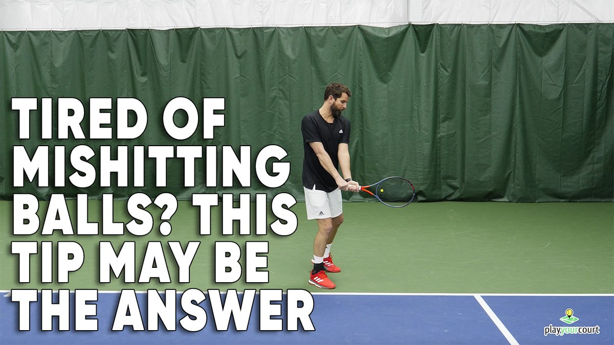 Ever have those days when you just can't hit the ball on the strings? Discover the secret to stop miss-hitting tennis balls  ➡️ https://t.co/aznywWfQAt  #tennis #tennislesson #tenniscoaching #technique https://t.co/mV4gDgcrQk
