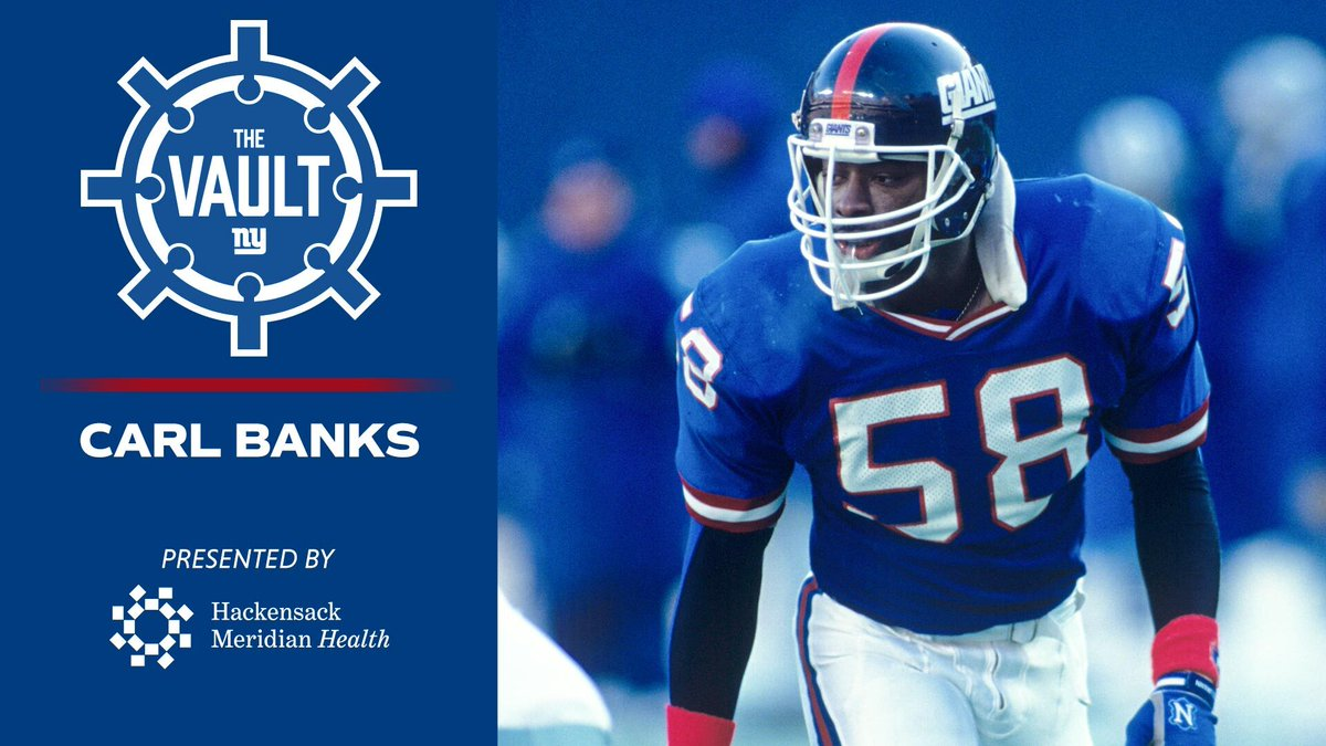 We take a look back at legendary linebacker Carl Banks, who inspired Big Blue to victory in Super Bowls XXI & XXV!  Watch the full episode Sunday 10:30AM ET on @MSGNetworks https://t.co/qv0ztwQhnO