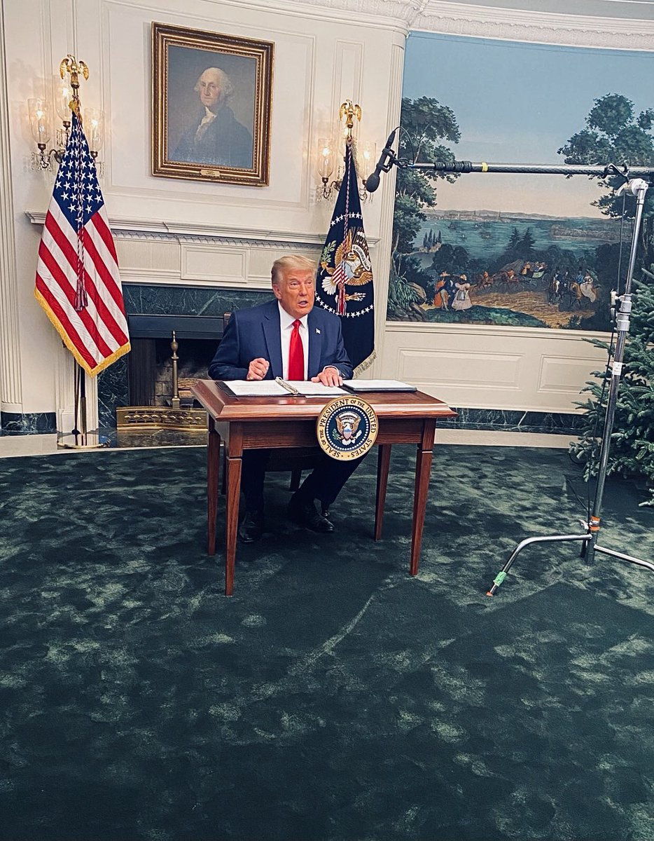 """Trump sitting at a mini resolute desk, yelling """"Don't talk to me that way, I'm the President of the United States!"""", and then — after everyone made fun of him — threatening to outlaw Twitter, is one of those things I'll just randomly think of and laugh at for the rest of my life."""