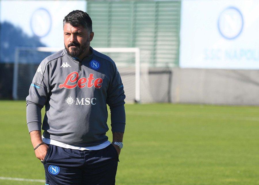 ⚽️   Napoli return to training ahead of Roma clash  👉   💙 #ForzaNapoliSempre