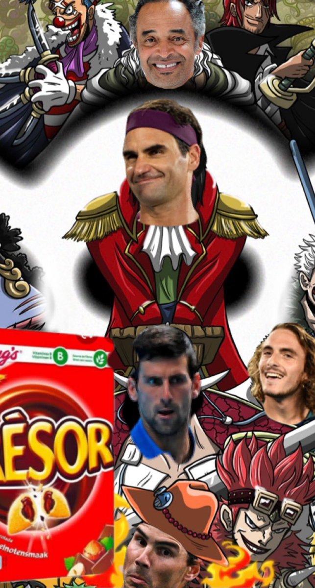 Gold D.Roger Federer #RolandGarros #Tennis #ONEPIECE https://t.co/7gFHRhb2zB