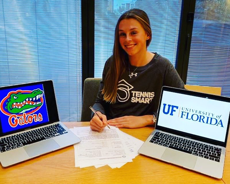 When you support the Starr Trust, you help make great things happen for young people like Alicia🌟  Alicia now has a scholarship @UF University of Florida and has signed with @Floridagators @GatorsWTN !#Tennis 🎾👏 https://t.co/wptdhJUccH https://t.co/rcjoBXeBEh
