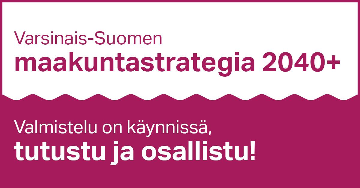 test Twitter Media - Varsinais-Suomessa maakuntastrategiaa rakennetaan uteliain mielin! Ilmoittautuminen strategiatyötä eteenpäin vieviin työryhmiin on auki. Uutisesta löydät myös #kumppanuusfoorumi2020 esitysmateriaalit: https://t.co/Hpdn7XZCiE #vskumppanuus #varsinaissuomi #maakuntastrategia https://t.co/sGf2rP7sPA