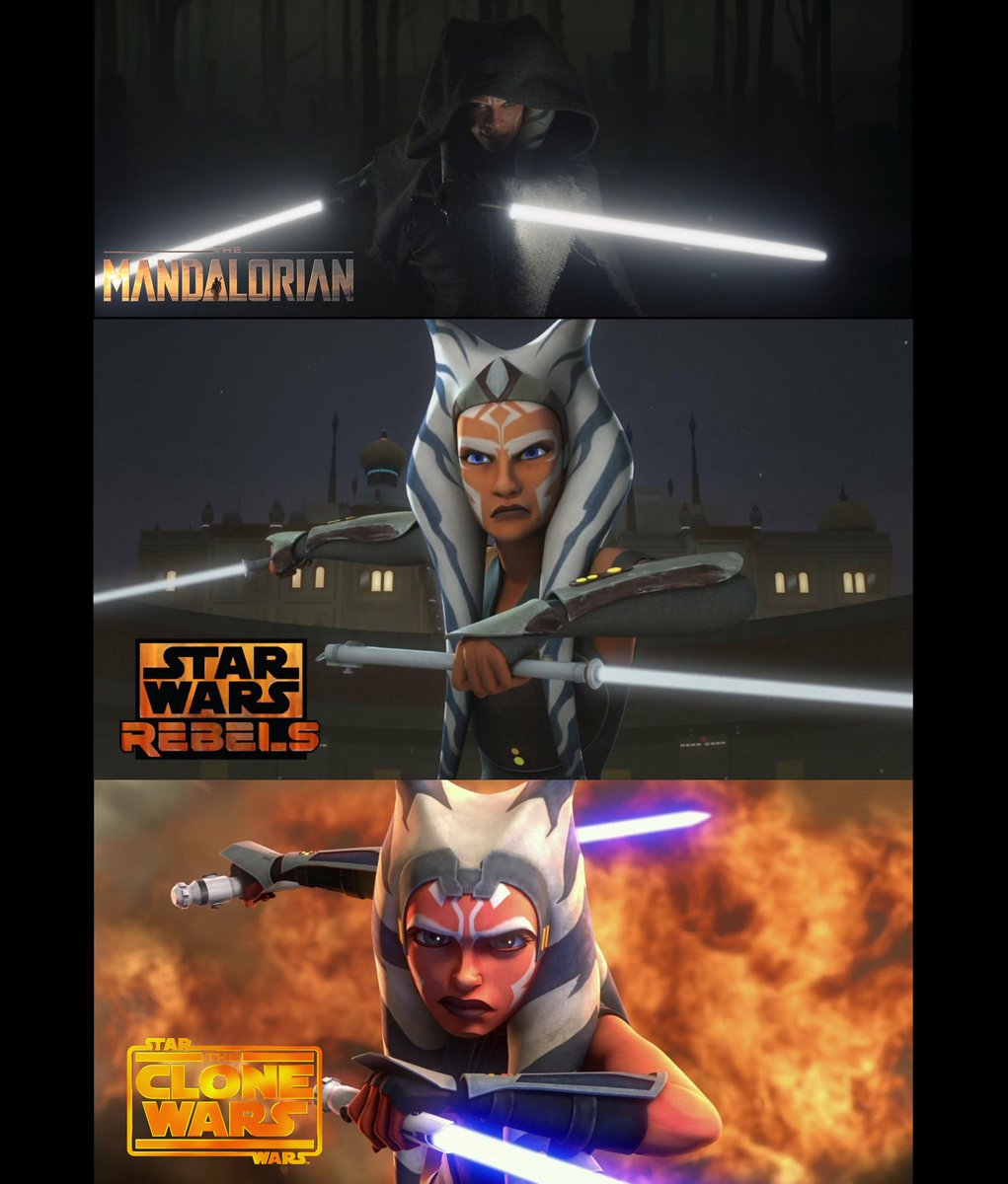 #AhsokaTano #TheMandalorian  I just wanna say how proud I am of @rosariodawson because she gone done and did the dang thing❤ #StarWars