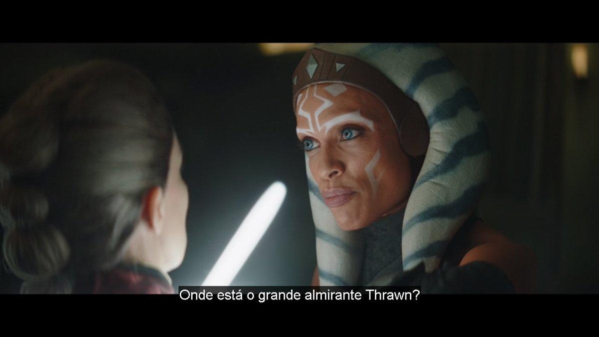 puta merda olha o Thrawn voltando para ser o vilão da série #TheMandalorian