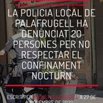 Image for the Tweet beginning: LA POLICIA LOCAL DE #PALAFRUGELL