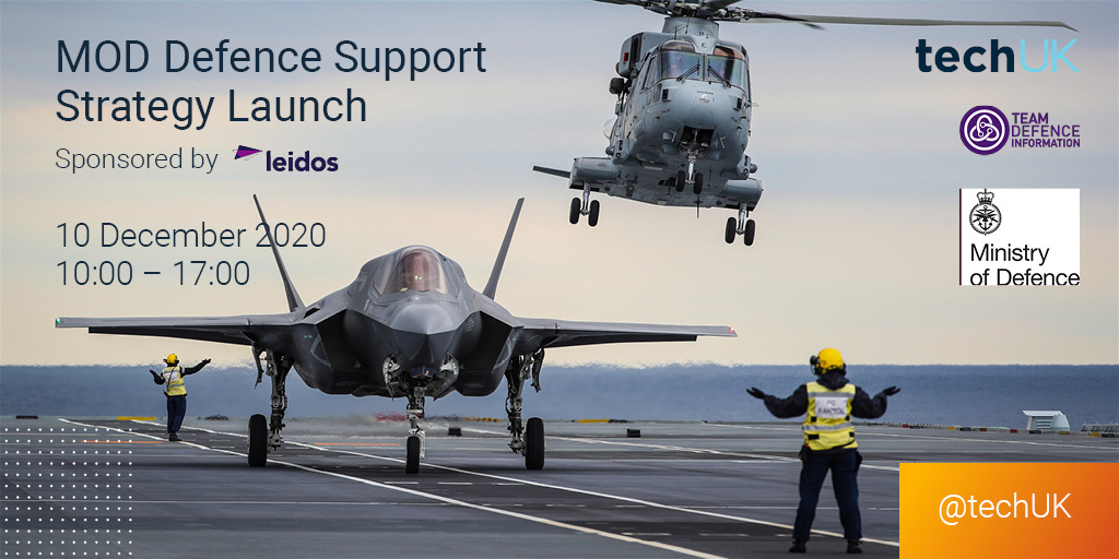 Book your place now for the MOD Defence Support Strategy Launch powered by headline sponsor @LeidosInc.   View the agenda and book your place here https://t.co/7ovD2qOhk3 https://t.co/2GOzECuyfZ